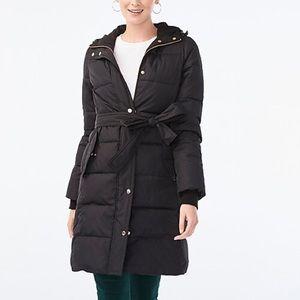 Jcrew Long Puffer Coat